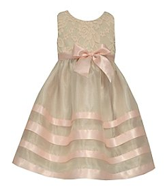 Bonnie Jean® Girls' 2T-6X Lace Ribbon Dress