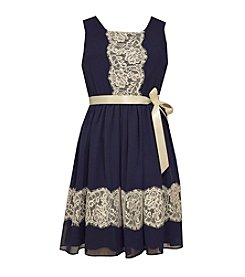 Bonnie Jean® Girls' 7-16 Lace Trim Dress