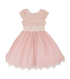 Rare Editions® Girls' 2T-6X Lace Ballerina Dress