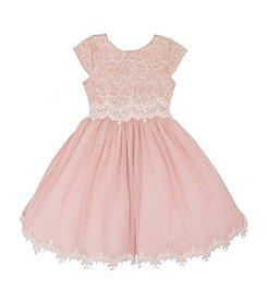 Rare Editions® Girls' 2T-6X Lace Ballerina Dress