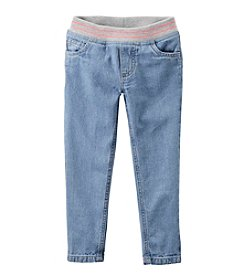 Carter's® Girls' 2T-8 Knit Waistband Jeans