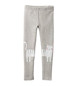 Carter's® Girls' 2T-8 Kitty Leggings