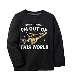 Carter's® Boys' 2T-4T Long Sleeve Out Of This World Tee
