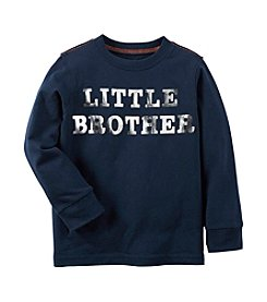 Carter's® Boys' 12M-4T Long Sleeve Little Brother Tee