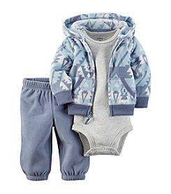 Carter's® Baby Boys 3-Piece Geo Hoodie Set