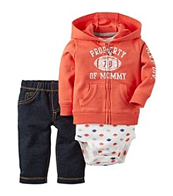 Carter's® Baby Boys 3-Piece Football Hoodie Set