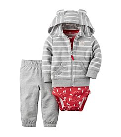 Carter's® Baby Boys 3-Piece Striped Hoodie Set