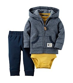 Carter's® Baby Boys 3-Piece Striped Hoodie Set