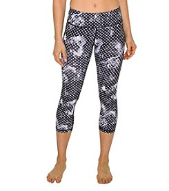 Betsey Johnson® Performance Floral Mesh Leggings