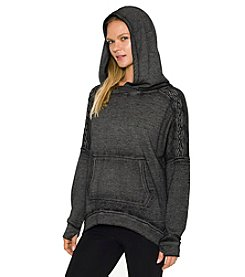 Betsey Johnson® Performance Hooded Pullover Top