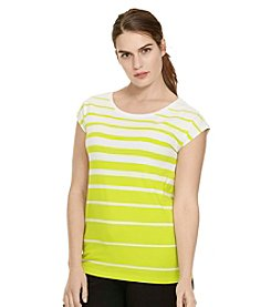 Lauren Ralph Lauren® Plus Size Striped Jersey Top