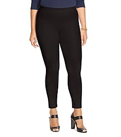 Lauren Ralph Lauren® Plus Size Stretch-Cotton Skinny Pants