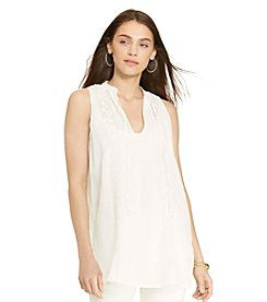 Lauren Ralph Lauren® Petites' Embroidered Tunic