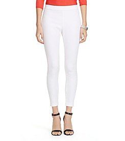 Lauren Ralph Lauren® Petites' Bi-Stretch Twill Leggings