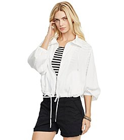Lauren Ralph Lauren® Lyocell Drawstring Jacket