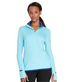 Lauren Active® Half-Zip Mockneck Pullover