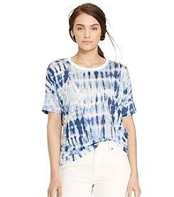 Lauren Jeans Co.® Tie-Dye Linen Tee