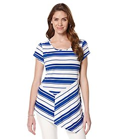 Rafaella® Easy Breezy Stripe Top