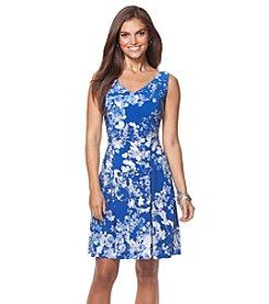 Chaps® Sleeveless Floral Dress