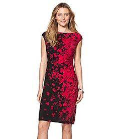 Chaps® Floral Jersey Dress