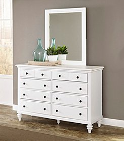 Home Styles® Bermuda Dresser and Mirror