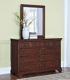 Home Styles® Lafayette Dresser and Mirror