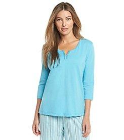 KN Karen Neuburger Pajama Top