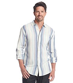 Paradise Collection® Men's Brushed Twill Long Sleeve Button Down Shirt