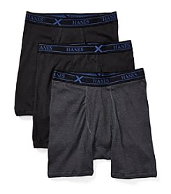 Hanes® Men's 3-Pack X-Temp Comfort Boxer Briefs