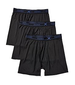 Hanes® Men's 3-Pack X-Temp Active Boxer Briefs