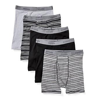 Hanes® Men's 5-Pack Ultimate Comfort Flex Waistband Boxe