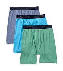 Hanes® Men's 3-Pack X-Temp Midway Boxer Briefs