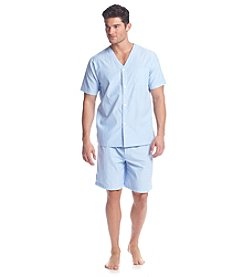 John Bartlett Statements Men's Short Sleeve Sleepshirt And Sleep Shorts Set