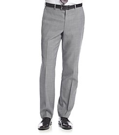 Kenneth Cole New York® Men's Slim Fit Gray Sharkskin Suit Separates Pants