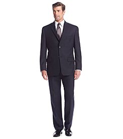 John Bartlett Statements Men's Navy Herringbone Suit Separates