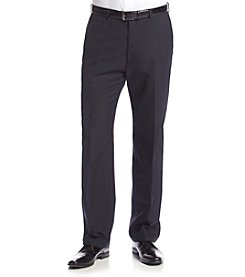 John Bartlett Statements Men's Navy Herringbone Suit Separates Pants