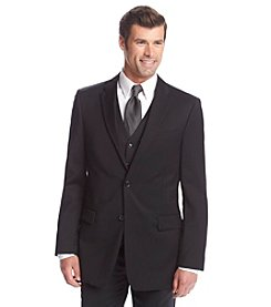 Tommy Hilfiger® Men's Black Solid Suit Separates Jacket