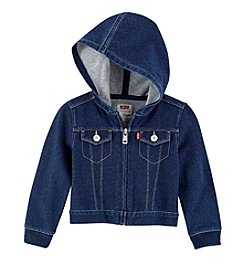 Levi's® Baby Girls' Zip Front Hooded Jacket
