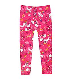 Squeeze® Girls' 2T-6X Unicorns & Rainbows Leggings