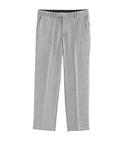 Calvin Klein Boys' 8-20 Sharkskin Pants