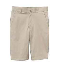 Nautica® Boys' 4-7 Flat Front Twill Shorts