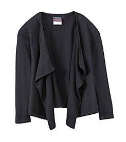 Nautica® Girls' 7-16 Drape Front Sweater