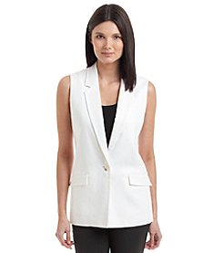MICHAEL Michael Kors® One Button Linen Vest