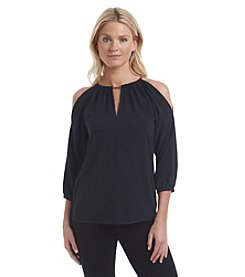 MICHAEL Michael Kors® Chain Cold Shoulder Top