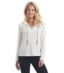 MICHAEL Michael Kors® Chain Raglan Top