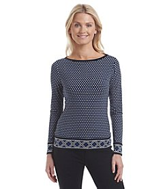 MICHAEL Michael Kors® Alston Border Top