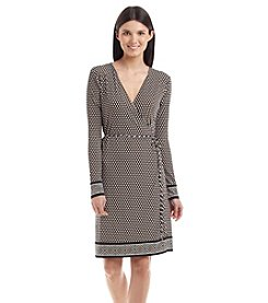 MICHAEL Michael Kors® Alston Border Wrap Dress