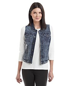 Marc New York Performance French Terry Denim Vest