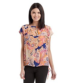 Nine West Jeans® Grommet Peasant Top