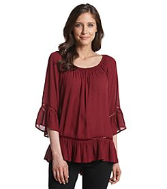 Fever™ Off Shoulder Peasant Top